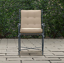 Catalina Armchair Weathered Zinc