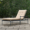 Catalina Chaise Weathered Zinc