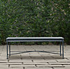 Catalina Coffee Table Weathered Zinc