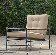 Catalina Lounge Chair Weathered Zinc