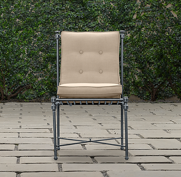 Catalina Side Chair Weathered Zinc