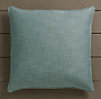 Perennials® Côte d&#39Azur Textured Linen Weave Pillow Cover Peacock