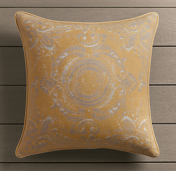 Perennials® Côte d&#39Azur French Tile Pillow Cover Soleil