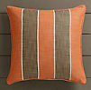 Perennials® Côte d&#39Azur Stripe Pillow Cover Clementine