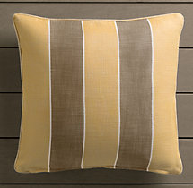 Perennials® Côte d&#39Azur Stripe Pillow Cover Soleil