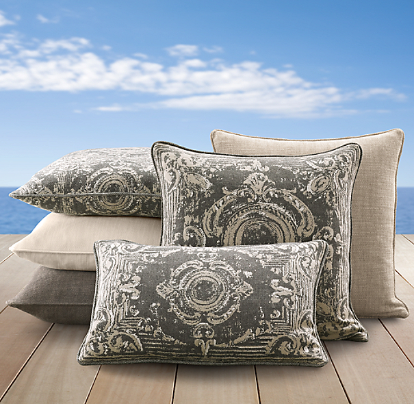 Perennials® Côte d&#39Azur Tile Pillow Cover Collection Graphite