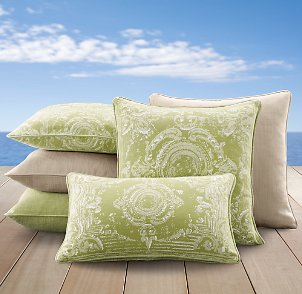 Perennials® Côte d&#39Azur Tile Pillow Cover Collection Vert