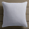 Perennials® Côte d&#39Azur Textured Linen Weave Pillow Cover Sky
