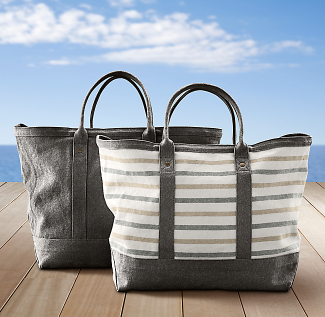 Côte D'Azur Beach Tote Collection