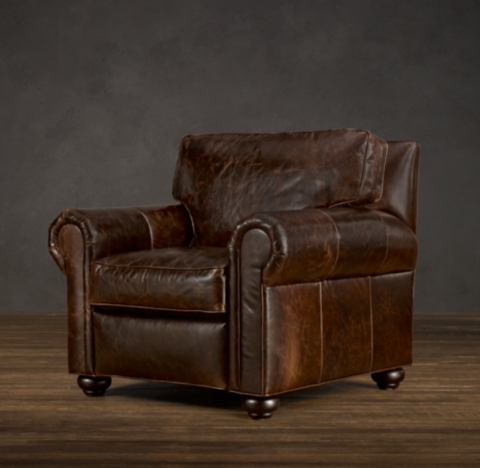 Simmons fenway power recliner tobacco bed mattress sale Recliners that look like chairs