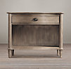 Empire Rosette Open Nightstand