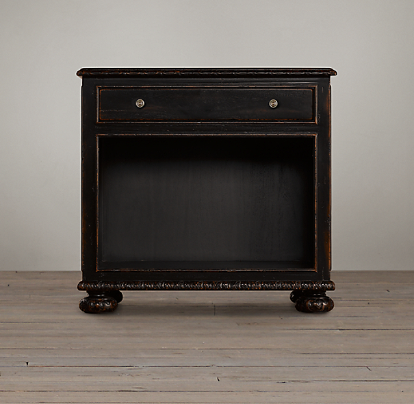 French Empire Open Nightstand