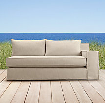 Capri  Right Arm Sofa