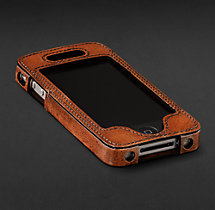 Artisan Leather iPhone® 4 & 4S Cover -  Chestnut