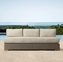 "75"" Biscayne Armless Sofa Cushion"