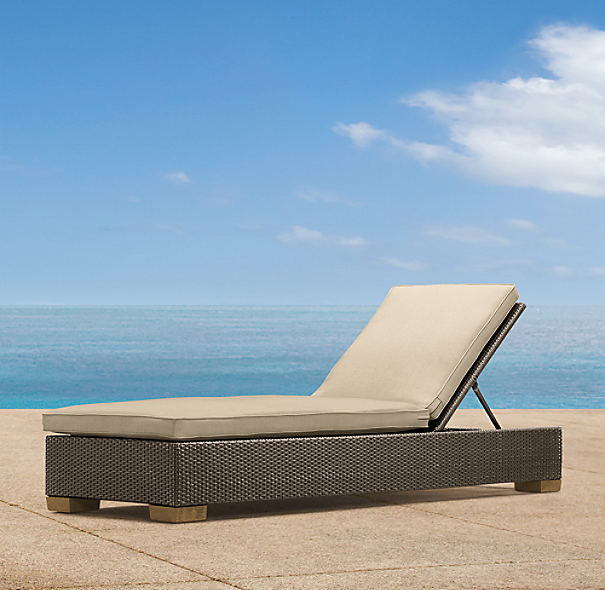 Del Mar Armless Chaise