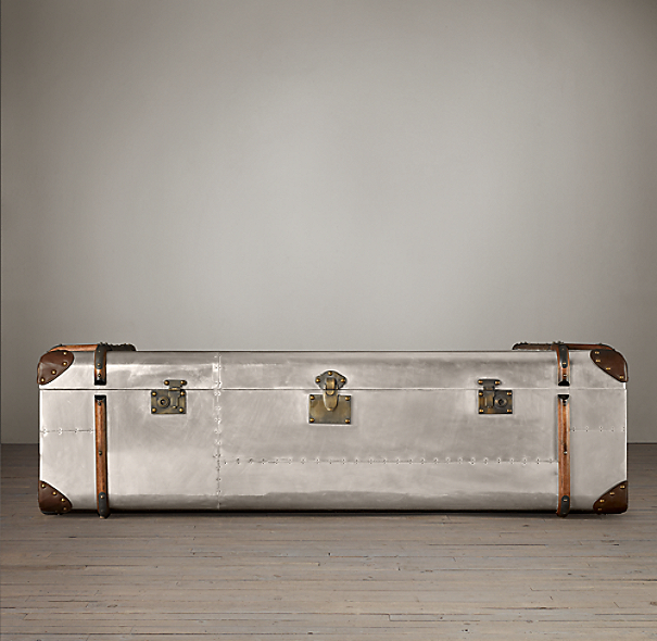 Richards' Metal Trunk Coffee Table
