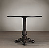"40"" 19th C. French Acanthus Brasserie Table"