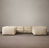Fulham Upholstered U-Sofa Sectional