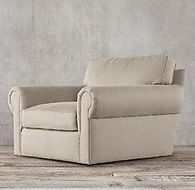 Lancaster Upholstered Swivel Chair