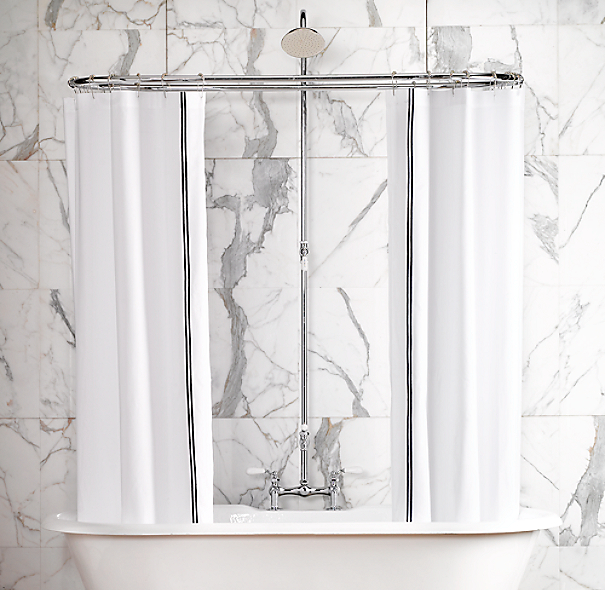 Shower Converter for Pedestal Tub