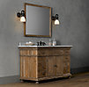 St. James Extra-Wide Single Vanity Sink Base