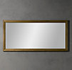 Weathered Oak Rectangular Mirror