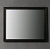 French Empire Mirror Antiqued Black