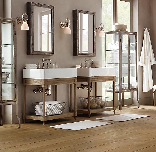 22x16 Oak Wood Wall Mount Medicine Cabinet w Mirror | eBay