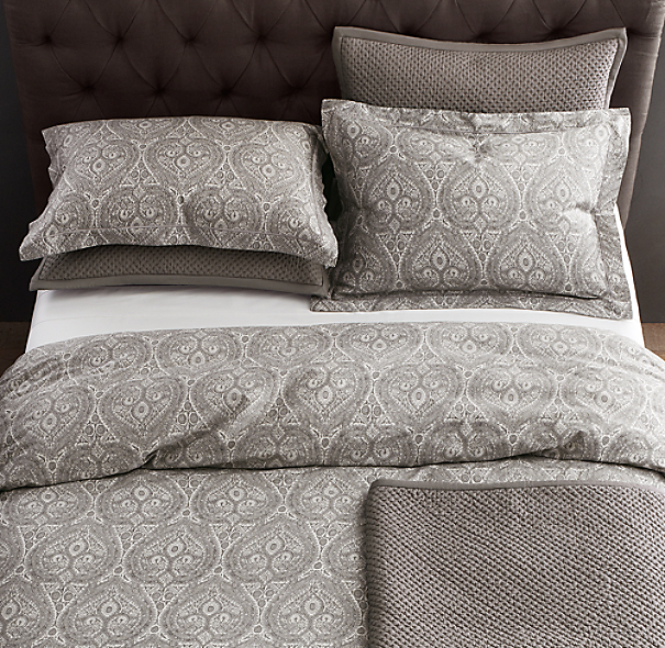 Italian Cypress Paisley Bedding Collection