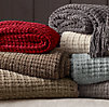 Chenille Throws - Braided