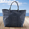 Côte d'Azur Beach Tote Collection Navy