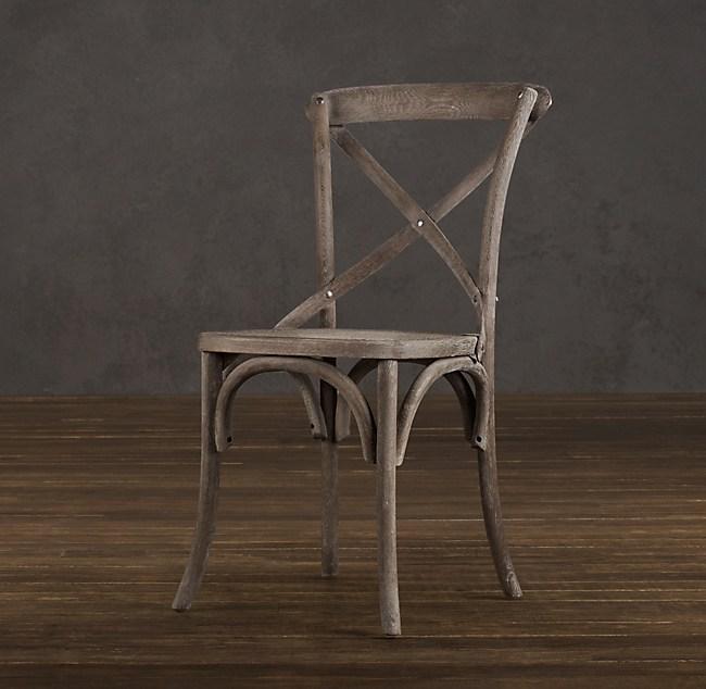 Madeleine Side Chair Burnt Oak