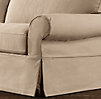 Grand-Scale Roll Arm Slipcovers