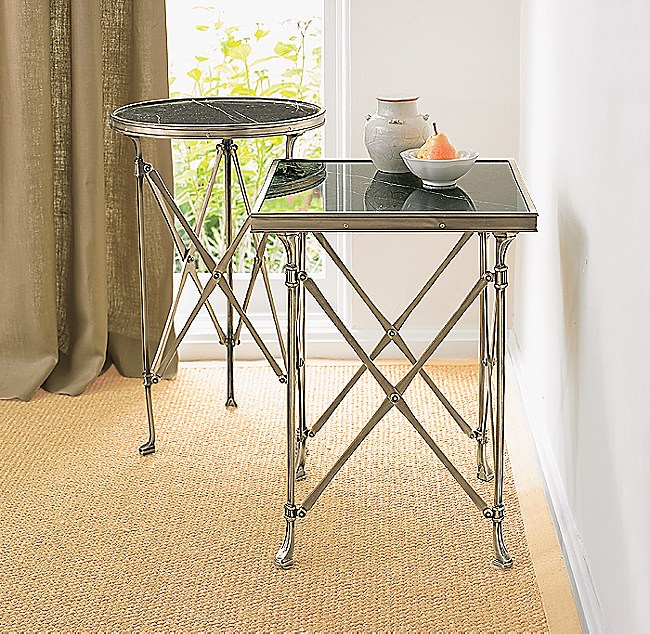 Campaign Square Side Table