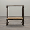 "20"" Dutch Industrial Side Table"