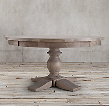 17th C. Monastery Round Dining Table