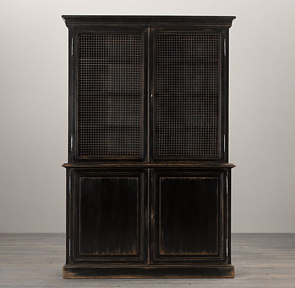 19Th C. English Notary Bookcase
