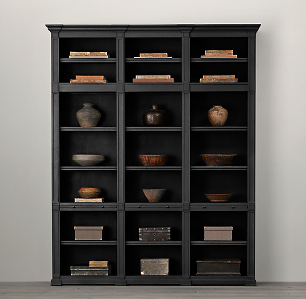 Atkins Triple Bookshelf
