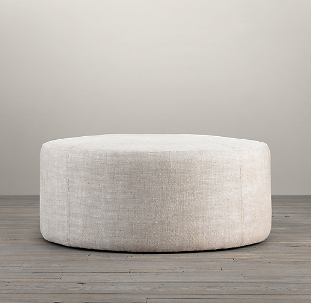 36 Quot Cooper Upholstered Round Ottoman