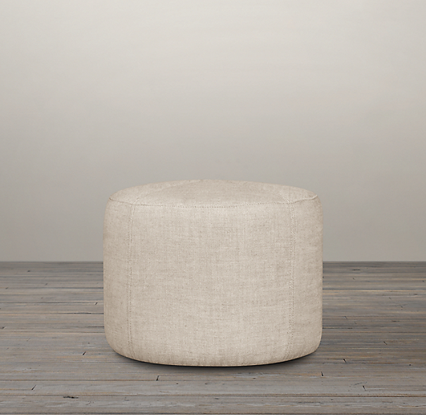 20 Quot Cooper Upholstered Round Ottoman
