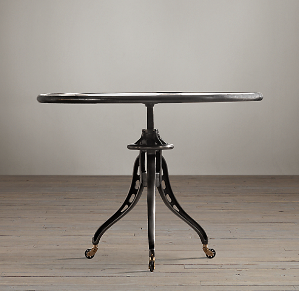 1930s Caliper Dining Table Cast