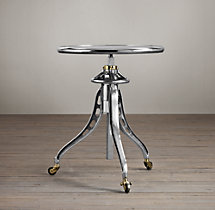 1930s Caliper Table Cast Aluminum