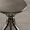"1930s 24"" Caliper Side Table Cast Iron (Set of 2)"