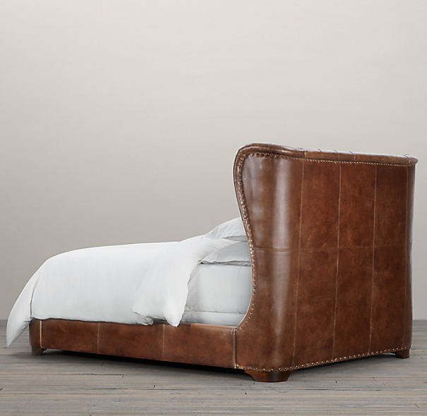 Churchill Leather Framed Bed