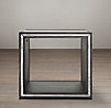 Strand Mirrored Cube Side (Set of 2)