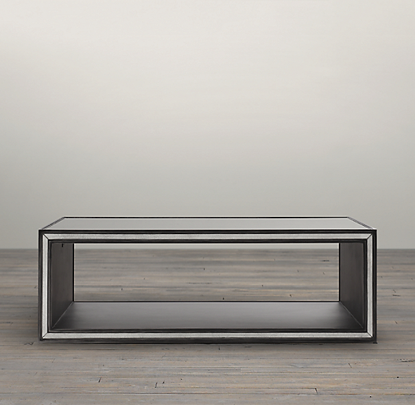 "48"" Strand Mirrored Coffee Table"