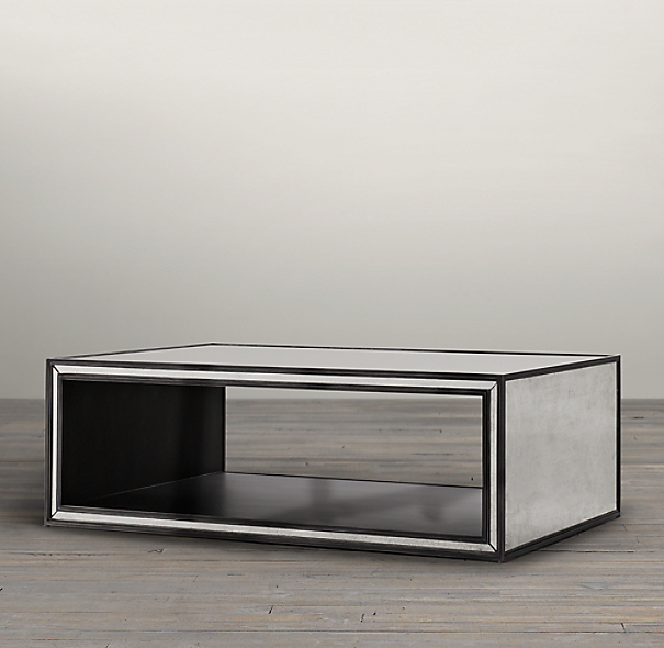 Strand Mirrored Coffee Table