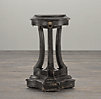 18th C. Lion's Head Side Tables Black (Set of 2)