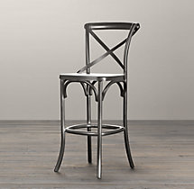 Metal Madeleine Stool
